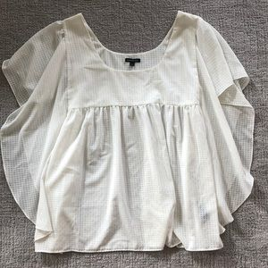 Who What Wear | White Top Size Large Like New